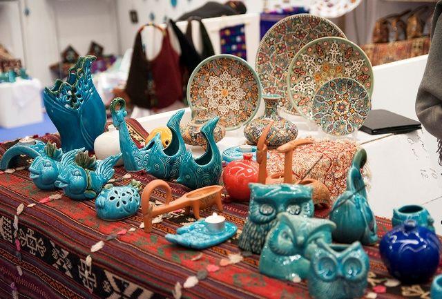 نمایشگاه صنایع دستی در مجموعه تجاری سیتی سنتر اصفهان