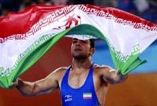 تیم کشتی آزاد ایران نایب قهرمان جهان شد
