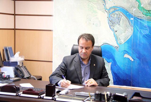 مدیر بنادر و دریانوردی آبادان هفته نیروی انتظامی را تبریک گفت