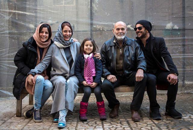 مهناز افشار، امین حیایی و سارا بهرامی جلوی دوربین «دارکوب»