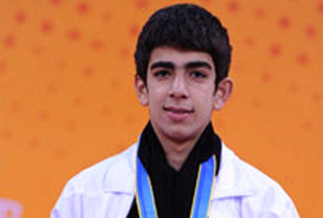 ایزدیار نشان نقره رقابتهای 50 متر آزاد را کسب کرد