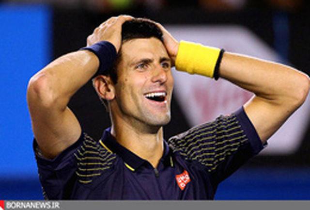 جوکوویچ در صدر برترین تنیس بازان جهان
