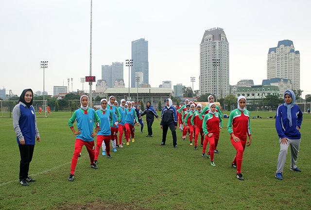 برتری جوانان ویتنام مقابل بانوان ایران
