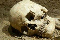 کشف جمجه انسان در زیر پل سراوان
