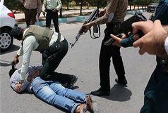 سارقان مسلح بانک ملت قم دستگیر شدند