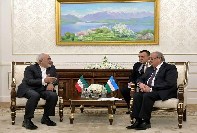توافق کلی درباره نقشه راه همکاریهای ایران ازبکستان حاصل شد