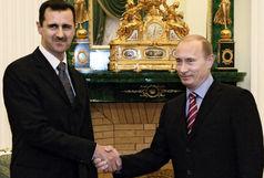 بشار اسد با پوتین دیدار کرد
