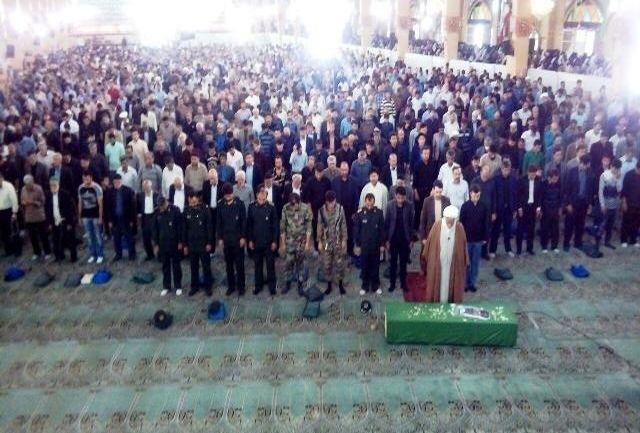 دوشهید مدافع حرم در پاکدشت تشییع شد