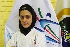 لیلا برجعلی مدال نقره لیگ جهانی کاراته وان ترکیه را دشت کرد