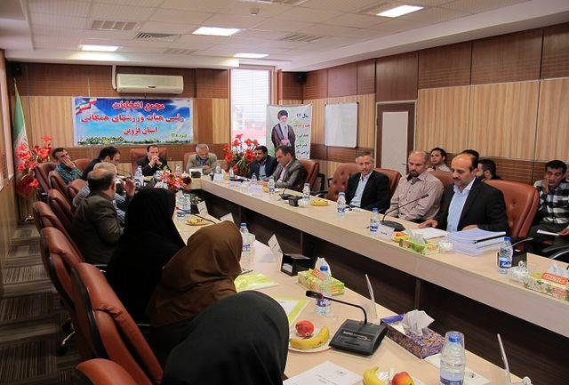 رئیس هیات ورزش های همگانی استان قزوین مشخص شد
