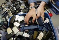 گوشی های قاچاق به مقصد نرسیدند