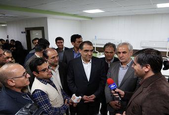 سفر یک روزه وزیر  بهداشت به استان خراسان شمالی