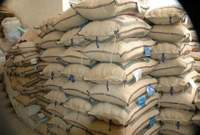 کشف 34 تن برنج قاچاق در بندرخمیر