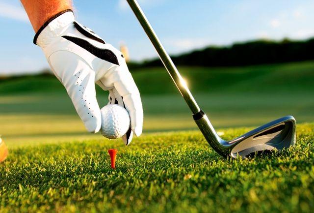 مسابقات گلف قهرمانی کشور برگزار می شود