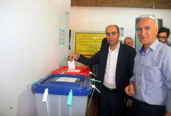 انتخابات ریاست جمهوری و شورای شهر و روستا- لاهیجان، رودبنه