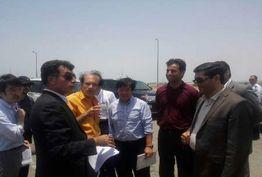 مدیران یک شرکت ژاپنی از بندر شهید بهشتی چابهار دیدن کردند