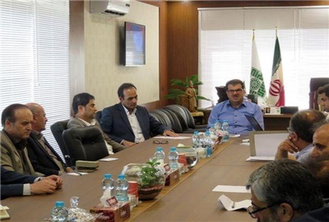 سومین جلسه شورای اداری اداره کل امور مالیاتی قزوین برگزار شد