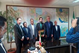 اعطای حکم شهردار آبادان با حضور معاون وزیر کشور+عکس