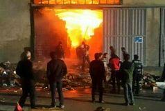 بی احتیاطی حادثه آفرید/ برق خانه ای را به آتش کشید