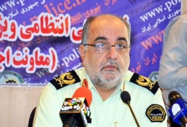 کالاهای قاچاق 70 میلیارد ریالی در غرب استان تهران کشف شد
