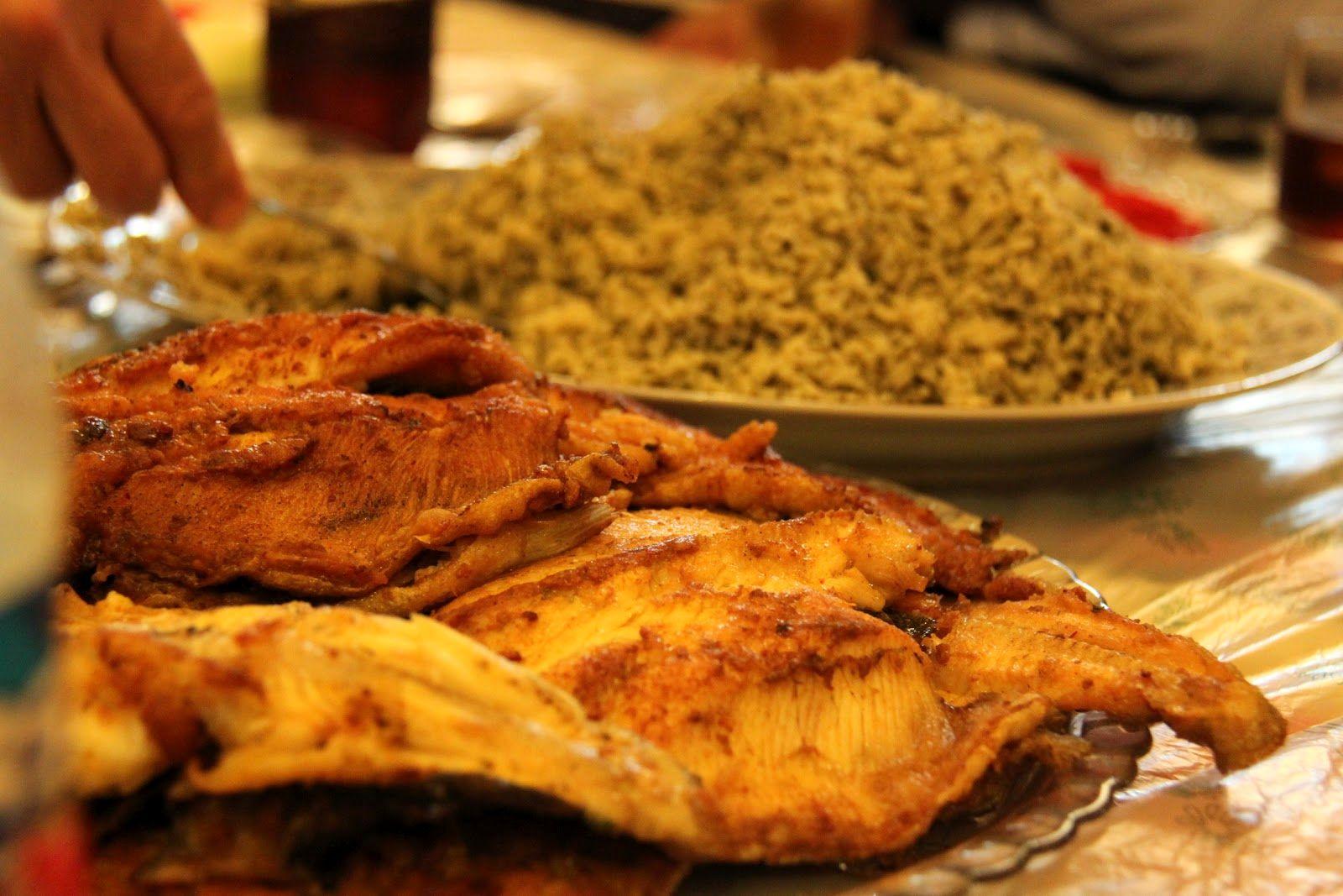 ع سبزه در تنگ ماهی قیمت غذا در رستوران های فرحزاد