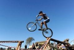 برگزاری اولین مرحله مسابقات رنکینگ دوچرخه سواری تریال خراسان رضوی