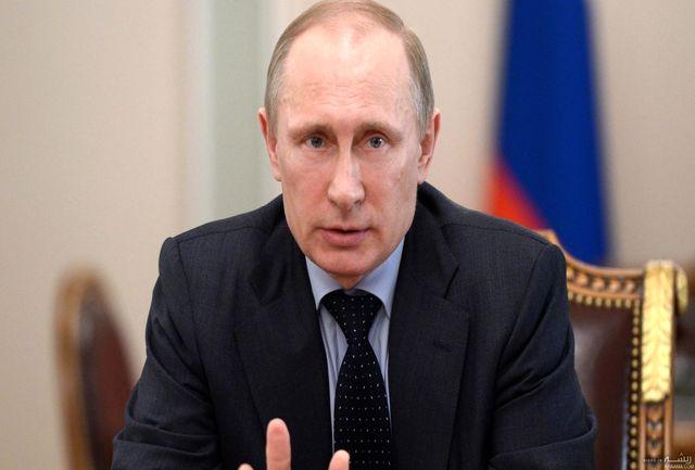 پوتین روز استقلال سوریه را تبریک گفت