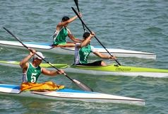 گیلان مقام نخست مسابقات قایقرانی ماراتن آبهای آرام قهرمانی کشور در منطقه آزاد انزلی را کسب کرد