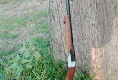 کشف یک قبضه اسلحه بلاصاحب دفن شده در زمین های کشاورزی