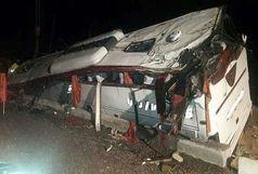 47کشته وزخمی در واژگونی اتوبوس درمحور اقلید یاسوج