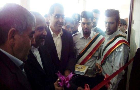 افتتاح بیمارستان شهدای پاکدشت