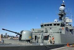 ناوگروه ۴۵ نیروی دریایی ارتش در بندر صلاله عمان پهلو گرفت