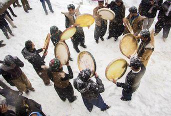 مراسم «پیر شالیار» آئین چند هزار ساله مردم هورامان