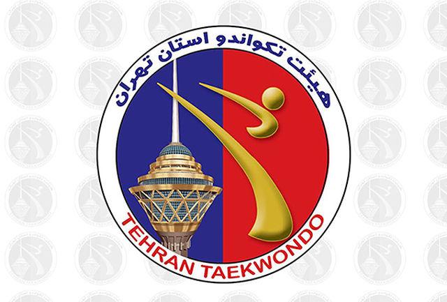 طلاییهای المپیاد تکواندو مناطق 20 گانه استان تهران مشخص شدند