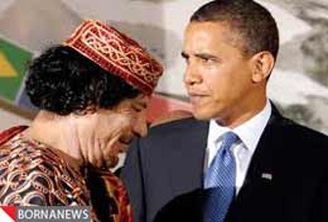 متن کامل نامه دیکتاتور لیبی به اوباما