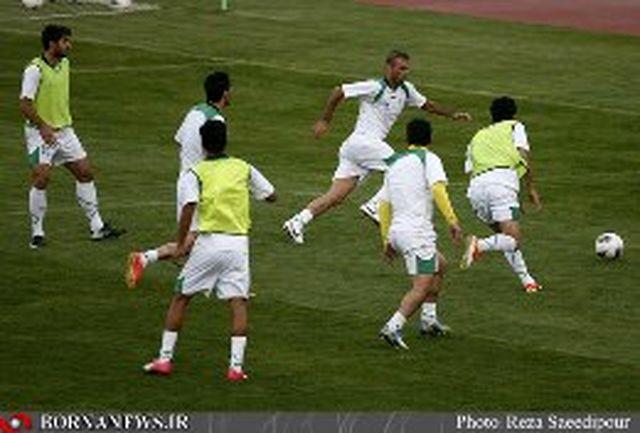 برگزاری تمرین تیم ملی در ورزشگاه آزادی