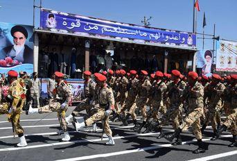 مراسم رژه نیروهای مسلح در سیستان و بلوچستان
