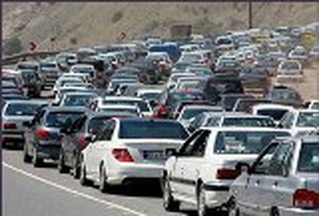 ترافیک نیمه سنگین در هشت محور مواصلاتی کشور