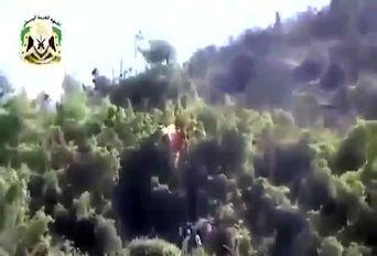لحظه اسارت خلبان جنگنده سوخو 24 روسیه + فیلم
