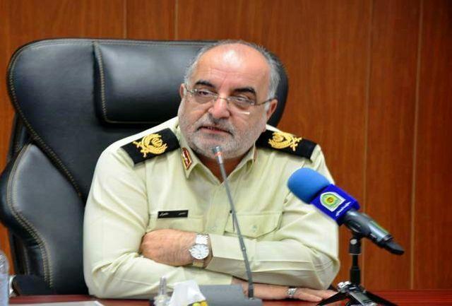 برقراری امنیت انتخابات یکی از مهمترین ماموریت های پلیس غرب استان تهران