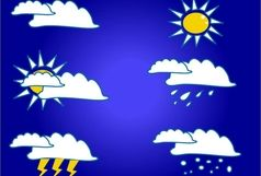وزش باد نسبتا شدید در هشت استان کشور/ آسمان سه شهر ایران بارانی است