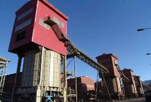 تولید سنگ آهن فرآوری شده به مرز 7 میلیون تن رسید