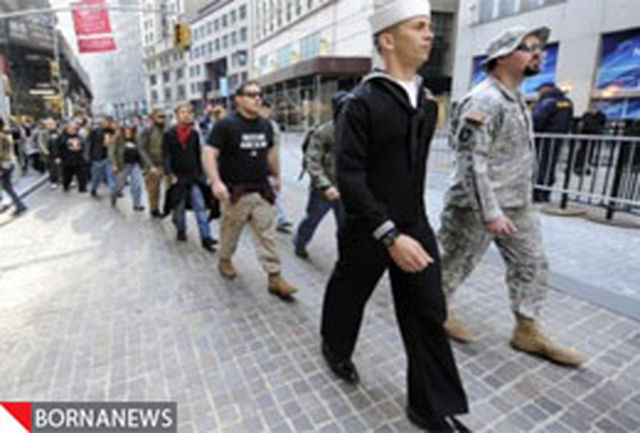 ادامه تظاهرات ضد نظام سرمایه داری در آمریکا + تصاویر