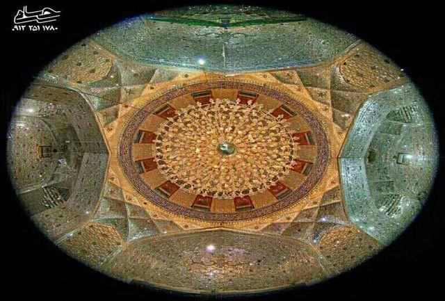 ماجرای عکسی که عکاس قمی از زیر قبه امام حسین(ع) گرفت