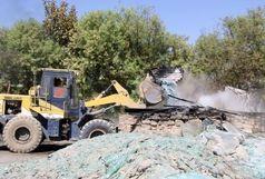 تخریب دو واحد آلاینده زیست محیطی در بخش کهریزک