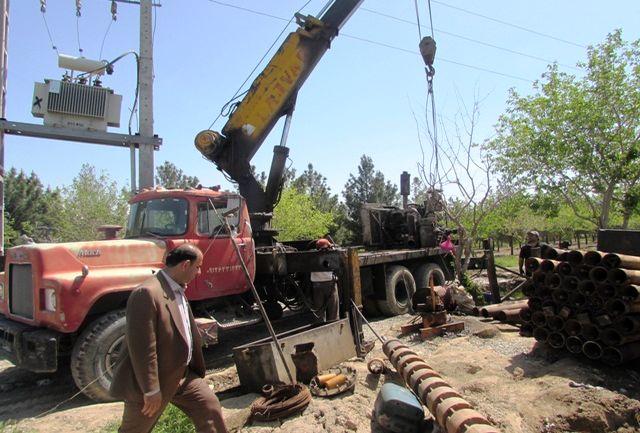 عملیات حفاری چاه شماره 4 زیتون در شهرستان قدس به پایان رسید