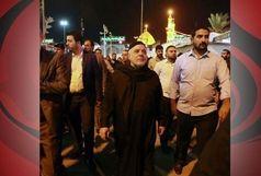 حیدرالعبادی در پیادهروی اربعین +عکس