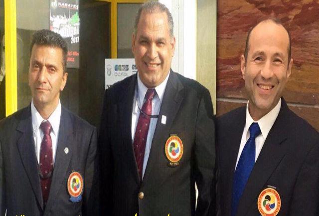 سه داور جهانی کاراته برای قضاوت دعوت شدند