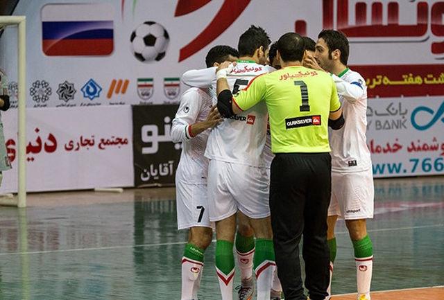 تیم ملی فوتسال به ایران بازگشت