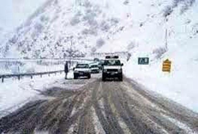 بارش برف و باران در جادههای کشور/ 4 محور مسدود است